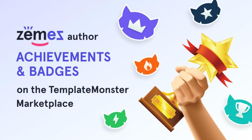 author achievements & badges