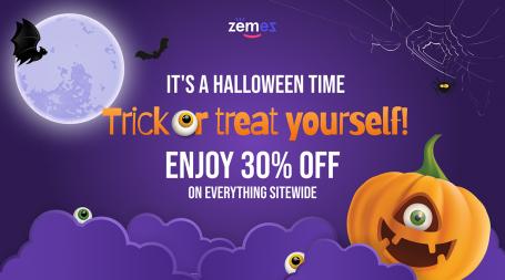 Halloween Deal 2021: Up to 25% Off Premium WordPress Themes